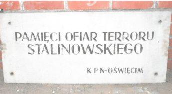 Oświęcim, tablice